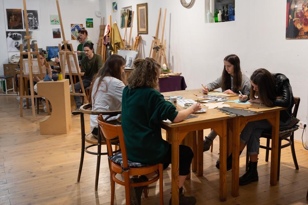 Zebegényi Festészeti Iskola - Ifjúsági grafika műhely