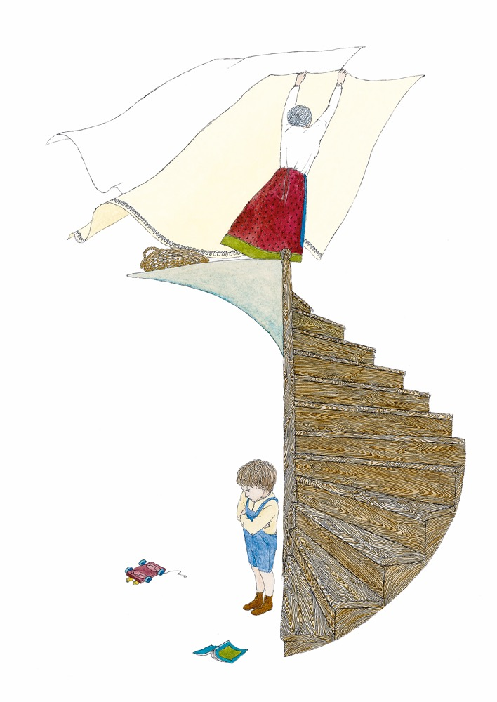 Illusztráció József Attila verséhez, A világ 12 tételben, Helikon kiadó 2007.