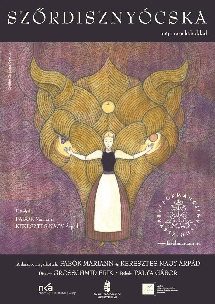 Plakáttervezés a Fabók Mancsi Bábszínháza részére